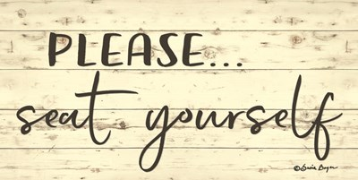 Please Seat Yourself art print by Susie Boyer for $37.50 CAD