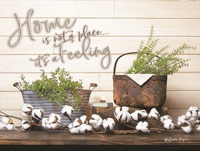 Home is Not a Place art print by Seven Trees Design for $41.25 CAD