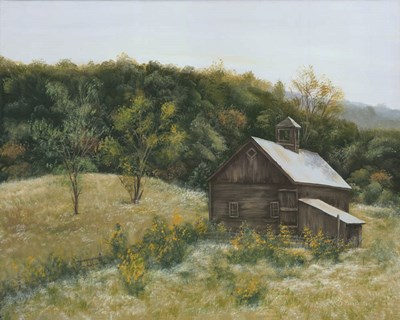 Barn in Vermont art print by Pam Britton for $56.25 CAD