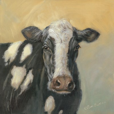 Pretty Cow art print by Pam Britton for $56.25 CAD