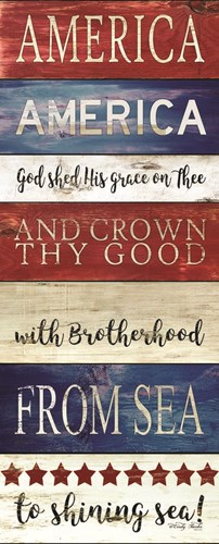 America God Shed His Grace on Thee art print by Cindy Jacobs for $36.25 CAD