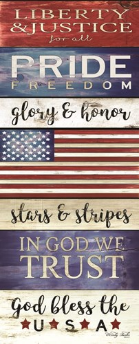 God Bless the USA art print by Cindy Jacobs for $36.25 CAD