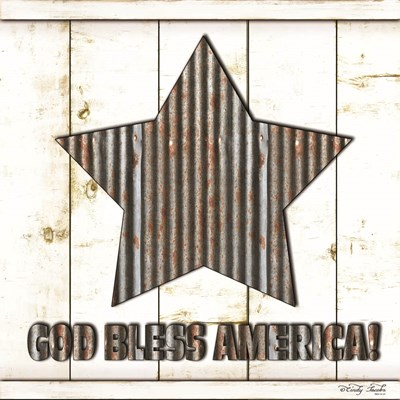 God Bless America art print by Cindy Jacobs for $35.00 CAD
