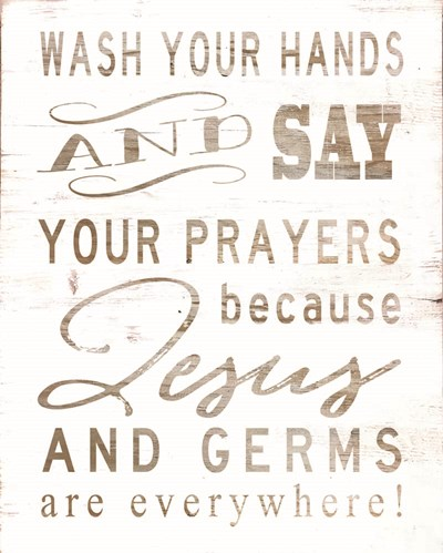 Wash Your Hands art print by Cindy Jacobs for $56.25 CAD