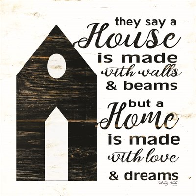 A House Is art print by Cindy Jacobs for $56.25 CAD
