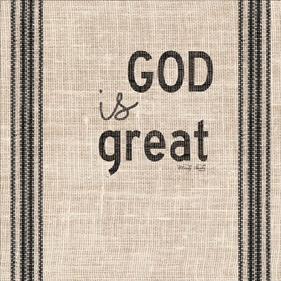 God is Great art print by Cindy Jacobs for $41.25 CAD