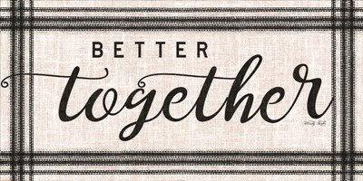 Better Together art print by Cindy Jacobs for $37.50 CAD