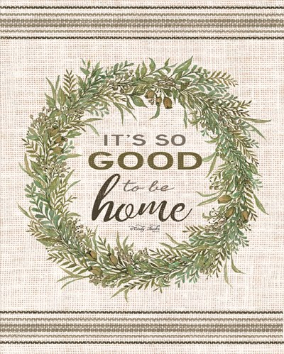 It's So Good Wreath art print by Cindy Jacobs for $56.25 CAD