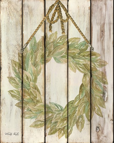 Rope Hanging Wreath art print by Cindy Jacobs for $56.25 CAD