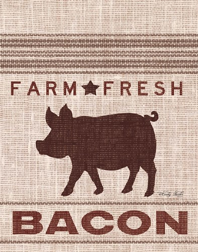 Grain Sack Bacon art print by Cindy Jacobs for $40.00 CAD