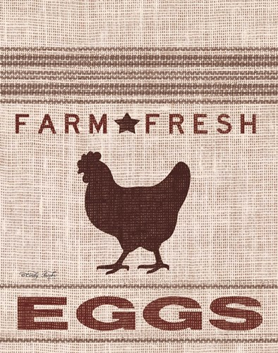 Grain Sack Eggs art print by Cindy Jacobs for $40.00 CAD
