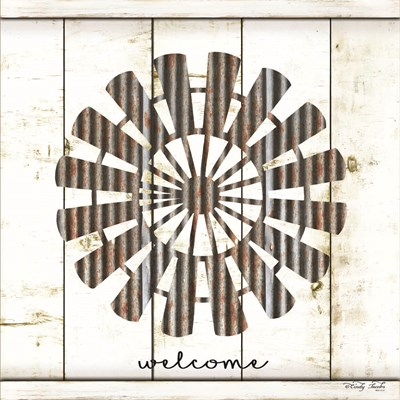 Windmill Welcome art print by Cindy Jacobs for $56.25 CAD