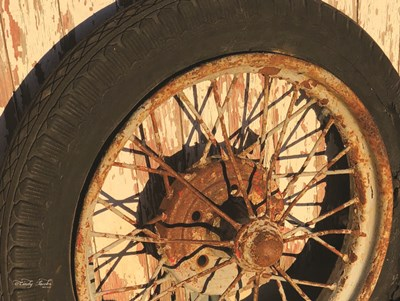 Tire art print by Cindy Jacobs for $41.25 CAD