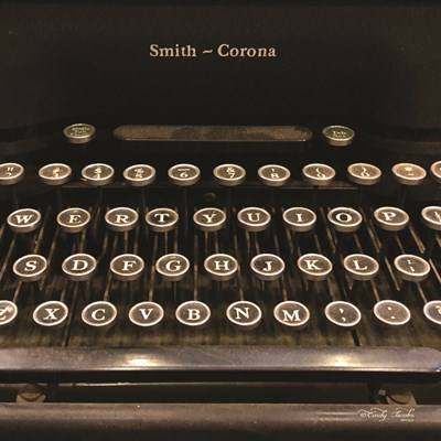 Smith Corona Typewriter art print by Cindy Jacobs for $35.00 CAD
