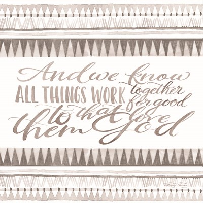 All Things Work Together art print by Cindy Jacobs for $35.00 CAD