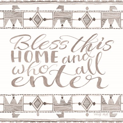 Bless This Home art print by Cindy Jacobs for $35.00 CAD