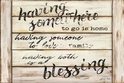 A Blessing art print by Cindy Jacobs for $43.75 CAD