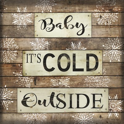 Baby It's Cold Outside art print by Cindy Jacobs for $35.00 CAD