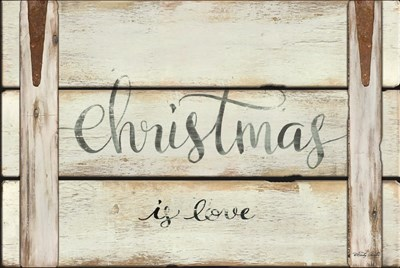Christmas is Love art print by Cindy Jacobs for $43.75 CAD