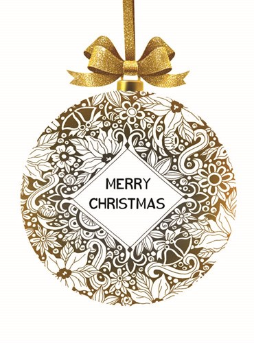 Merry Christmas Ornament art print by Cindy Jacobs for $41.25 CAD