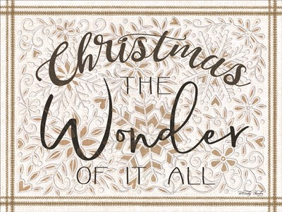 Christmas the Wonder of It All art print by Cindy Jacobs for $41.25 CAD