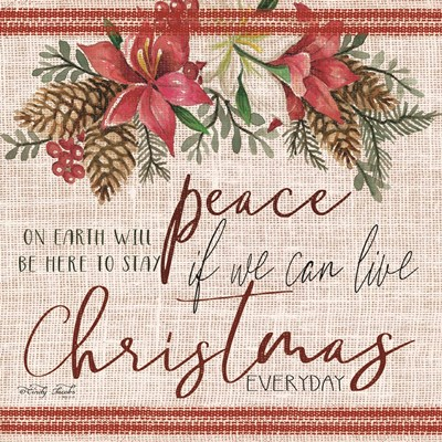 Peace on Earth art print by Cindy Jacobs for $41.25 CAD