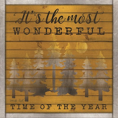 It's the Most Wonderful Time of the Year art print by Cindy Jacobs for $35.00 CAD
