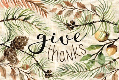 Give Thanks art print by Cindy Jacobs for $43.75 CAD