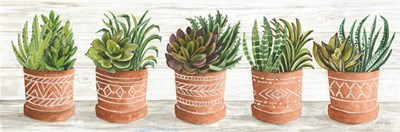 Terracotta Pots II art print by Cindy Jacobs for $66.25 CAD