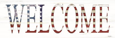 Patriotic Welcome art print by Cindy Jacobs for $67.50 CAD