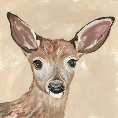 Snowy the Deer art print by Cindy Jacobs for $56.25 CAD