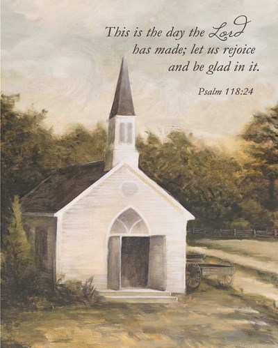 Let Us Rejoice Church art print by Dee Dee for $56.25 CAD