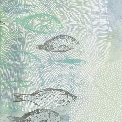 Swimming Fish art print by Dogwood for $56.25 CAD