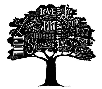 Our Family Tree art print by Deb Strain for $45.00 CAD