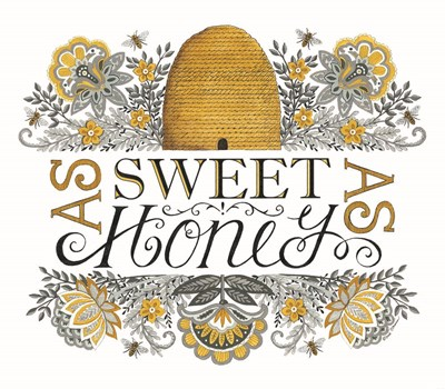 Sweet As Honey art print by Deb Strain for $45.00 CAD