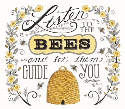 Listen to the Bees art print by Deb Strain for $45.00 CAD