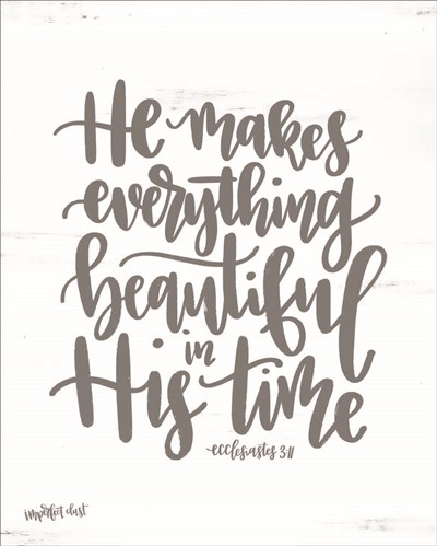 His Time art print by Imperfect Dust for $56.25 CAD