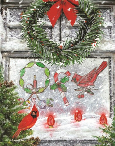 Christmas Peace art print by Ed Wargo for $40.00 CAD
