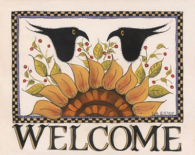 Sunny Welcome art print by Lisa Hilliker for $36.25 CAD
