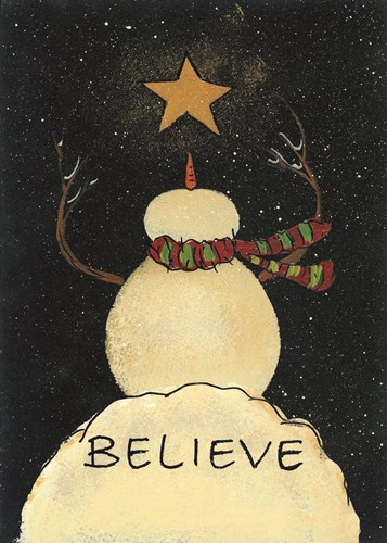 Christmas! art print by Lisa Hilliker for $33.75 CAD