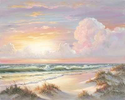 Golden Sunset on Crystal Cove art print by Georgia Janisse for $56.25 CAD