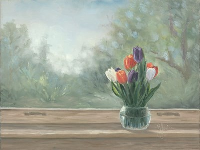 Tulips art print by Georgia Janisse for $41.25 CAD