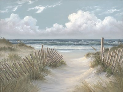 Pathway Through the Dunes art print by Georgia Janisse for $53.75 CAD