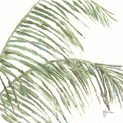 Two Palm Fronds I art print by Georgia Janisse for $48.75 CAD