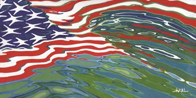 Flag art print by Margaret Juul for $52.50 CAD