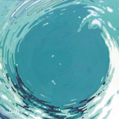 Circling Wave II art print by Margaret Juul for $35.00 CAD