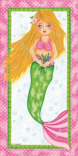 Mermaid art print by Lisa Kennedy for $52.50 CAD