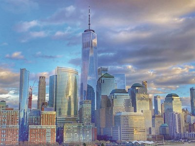 New York City II art print by Kathy Jennings for $41.25 CAD
