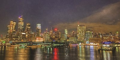 City Lights art print by Kathy Jennings for $42.50 CAD