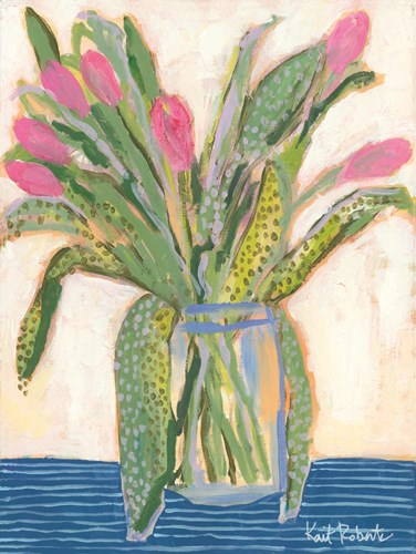 Tulips for Maxine I art print by Kait Roberts for $41.25 CAD